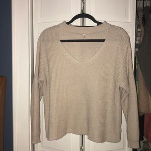 Sweaters - Open Chest Sweater